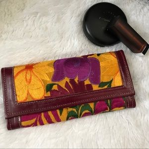 Handbags - Mexican Embroidered Wallet